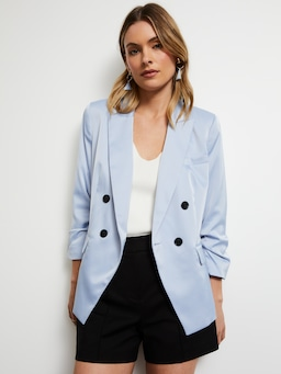 Sally Satin Blazer