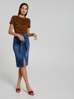 Californian Dreaming Denim Skirt