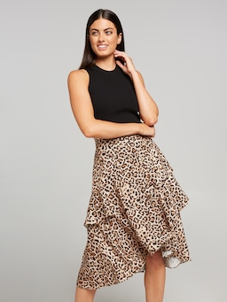 The Rapture Ruffle Skirt