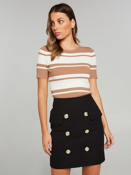 Turn To Me Mini Skirt