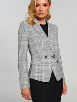Willow 2 Button Check Blazer