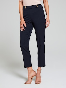 All Business Navy Suit Pant