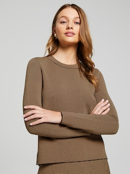 Celina Check Milano Knit