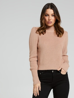 Odette Mock Neck Knit