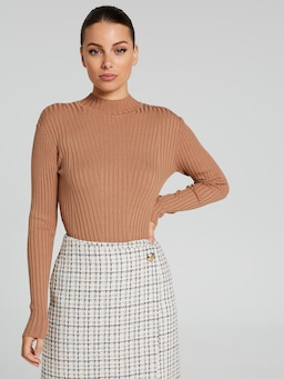Amelie Mock Neck Knit