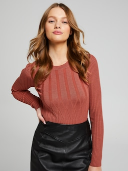 Amber Front Detail Knit