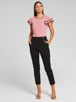 Clementine Layered Sleeve Top