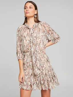 Changing Places Button Dress