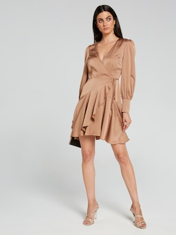 Endless Love Short Satin Dress